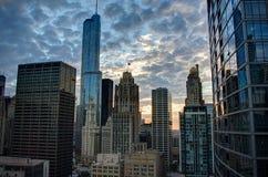 De stad in Royalty-vrije Stock Foto