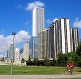 De stad in 4 royalty-vrije stock foto