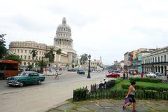 De Stad Caraïbische Kuba van La Habana van Havannacuba royalty-vrije stock foto