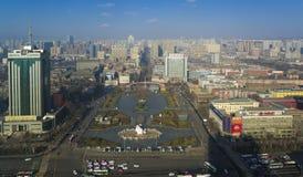 De stad China van Tai-Yuan royalty-vrije stock foto