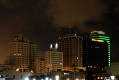 De stad in in Corpus Christi Royalty-vrije Stock Afbeeldingen