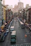 De Stad de V.S. van Broadway New York van het oosten Stock Fotografie