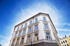 De stad die van Oslo 2 bouwen Stock Foto's