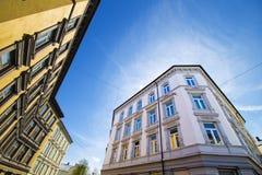 De stad die van Oslo 12 bouwen Stock Afbeelding