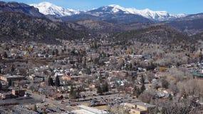 De stad in in Durango, Colorado Royalty-vrije Stock Afbeeldingen