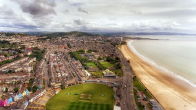 De Stad en de Baai van Swansea Stock Afbeelding