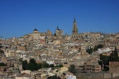 De Stad en de Kathedraal van Toledo Royalty-vrije Stock Afbeelding