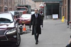 De stad 14 februari 2015 van Fashionweeknew york Royalty-vrije Stock Afbeeldingen