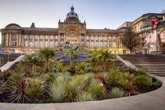 De Stad Hall England het UK van Birmingham stock fotografie