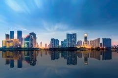 De stad Hangzhou van China Royalty-vrije Stock Fotografie