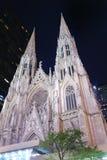 De Stad Heilige Patrick Cathedral van New York Stock Afbeeldingen