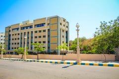 De stad Hyderabad van de Ramojifilm stock foto's