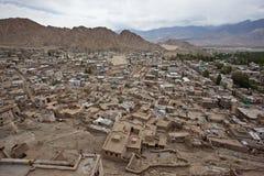De stad Leh van Himalayan Stock Foto's