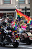 2016 de Stad LGBT Pride March van New York Stock Afbeelding