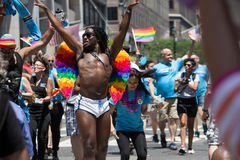 2016 de Stad LGBT Pride March van New York Royalty-vrije Stock Foto