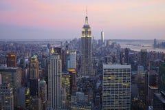 De Stad Manhattan van New York Royalty-vrije Stock Fotografie