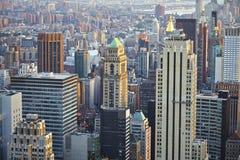 De Stad Manhattan van New York Stock Afbeelding