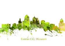 De Stad Missouri van Kansas Stock Fotografie