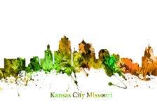 De Stad Missouri van Kansas Stock Foto