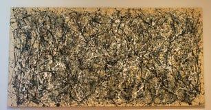 De Stad MOMA Jackson Pollock van New York stock afbeelding
