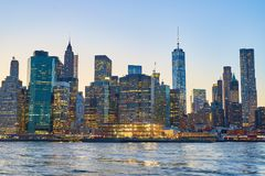 De stad New-York Stock Afbeelding