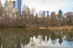 De stad New-York Stock Fotografie