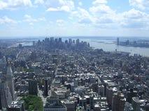 De stad in, NYC Royalty-vrije Stock Afbeelding