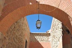 De stad Potosi In Munt Stock Foto