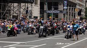 De Stad Pride Parade van New York Royalty-vrije Stock Foto's