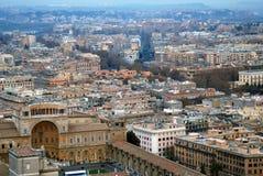 De Stad Rome Italië van Vatikaan Stock Foto's
