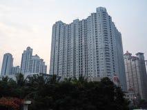 De Stad Scape van Djakarta stock afbeelding