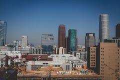 De Stad Scape van Los Angeles Stock Afbeelding