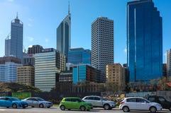 De Stad Scape van Perth Stock Afbeeldingen