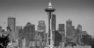 De Stad Scape van Seattle Stock Afbeelding