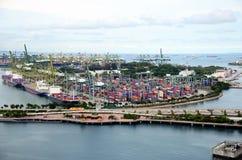 De stad in Singapore Royalty-vrije Stock Afbeelding