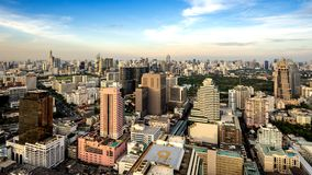 De stad Thailand van Bangkok royalty-vrije stock foto's