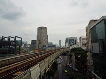 De stad Thailand van Bangkok Stock Afbeelding