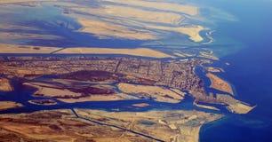 De Stad van Abu Dhabi - de V.A.E Royalty-vrije Stock Foto