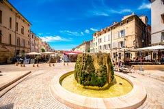 De stad van Aix-en-Provence in Frankrijk royalty-vrije stock fotografie