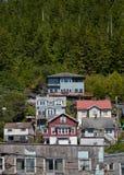 De Stad van Alaska Stock Afbeelding