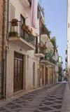 De Stad van Alcamo stock afbeeldingen