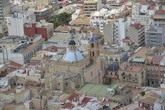 De stad van Alicante Royalty-vrije Stock Fotografie