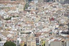 De stad van Alicante Stock Fotografie