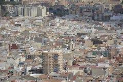 De stad van Alicante Stock Afbeelding