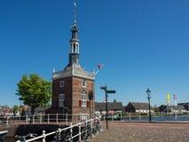 De stad van Alkmaar in Nederland Royalty-vrije Stock Foto's