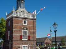 De stad van Alkmaar in Nederland Royalty-vrije Stock Fotografie