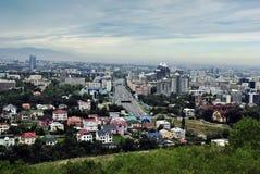 De stad van Alma Ata Stock Afbeeldingen