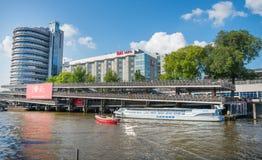 De stad van Amsterdam Stock Afbeelding