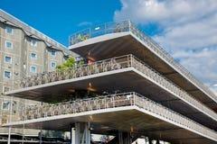 De stad van Amsterdam Stock Foto