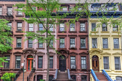 De Stad van Astor Row - van New York Royalty-vrije Stock Fotografie